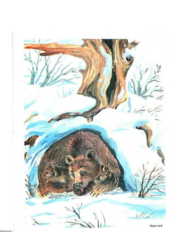 конспект занятия в подготовительной группе как животные готовятся к зиме