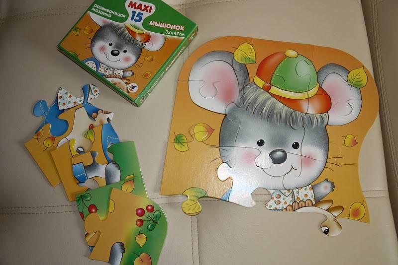 Иллюстрация 1 из 4 для Развивающая мозаика. Мышонок | Лабиринт - игрушки. Источник: Яшина  Мария