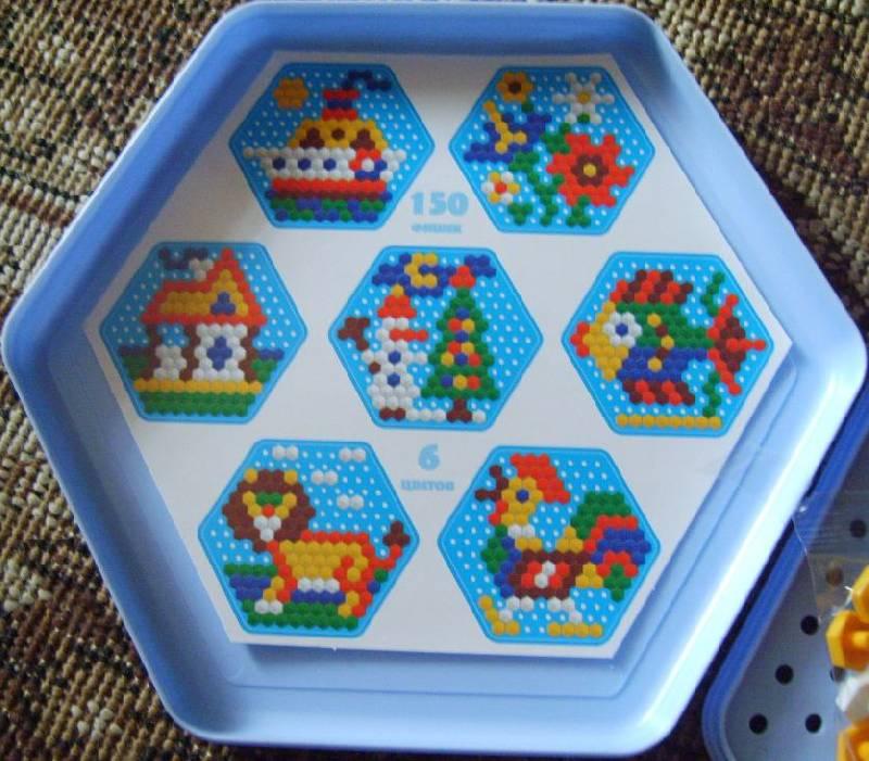 Иллюстрация 1 из 3 для Мозаика шестигранная 150 элементов (00957) | Лабиринт - игрушки. Источник: Tatka