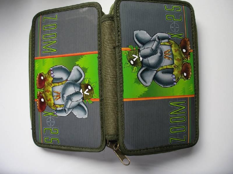 Иллюстрация 1 из 6 для Пенал школьный ПШ-2 малый Zoom 1 (слон)   Лабиринт - канцтовы. Источник: Tiger.