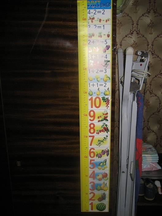 Иллюстрация 1 из 7 для Ростомер: Счет 15х100см (блок 25шт) | Лабиринт - игрушки. Источник: Тябут  Мария Александровна