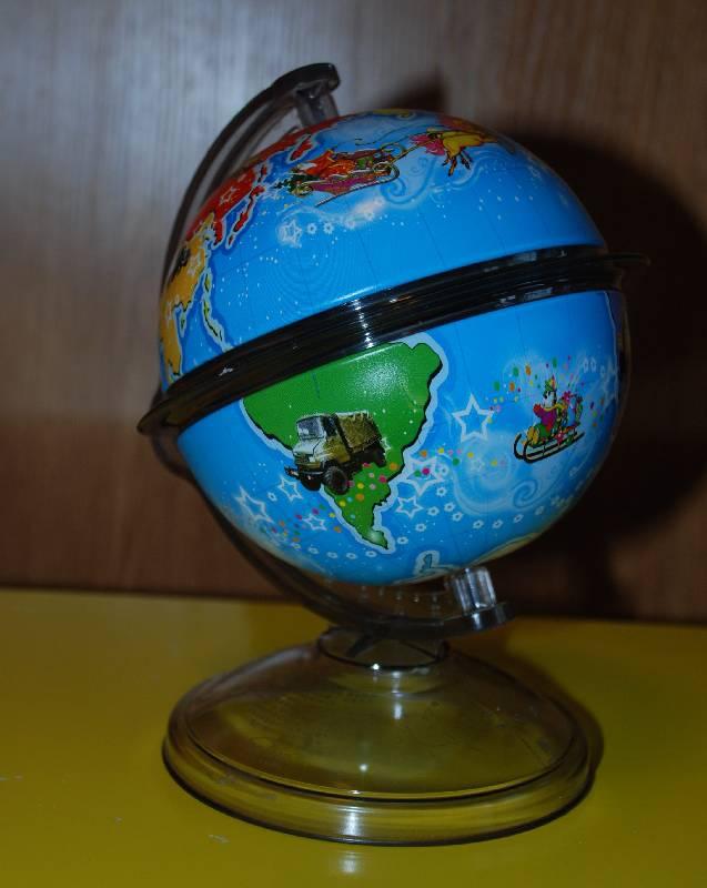 Иллюстрация 1 из 4 для Копилка LCB-GCO Глобус (03-26329) | Лабиринт - игрушки. Источник: МаRUSя