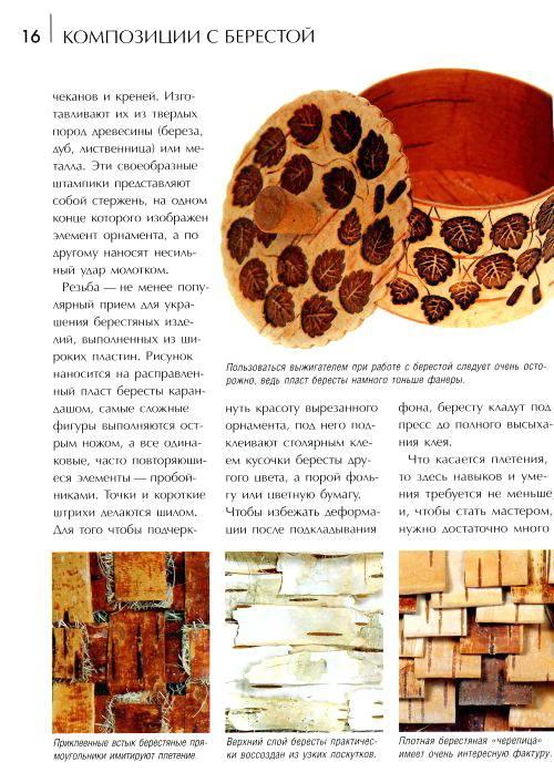 Иллюстрация 1 из 28 для Композиции с берестой - Татьяна Локрина   Лабиринт - книги. Источник: Nadezhda_S