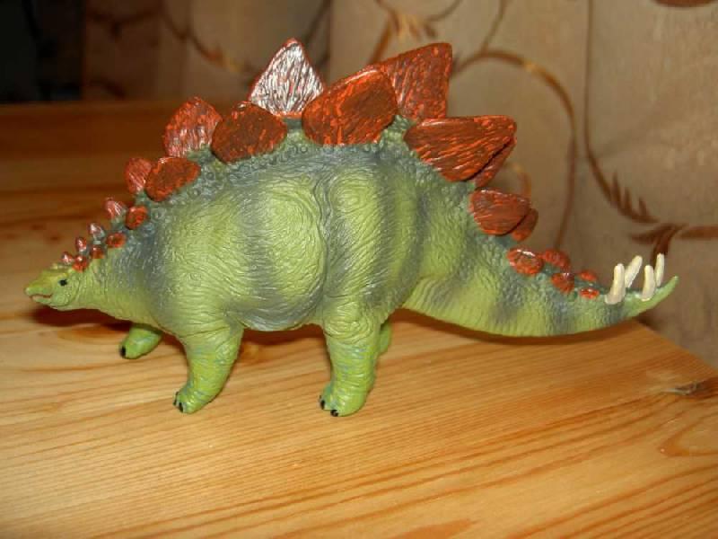 Иллюстрация 1 из 12 для Стегозавр (411901) | Лабиринт - игрушки. Источник: hellgirl