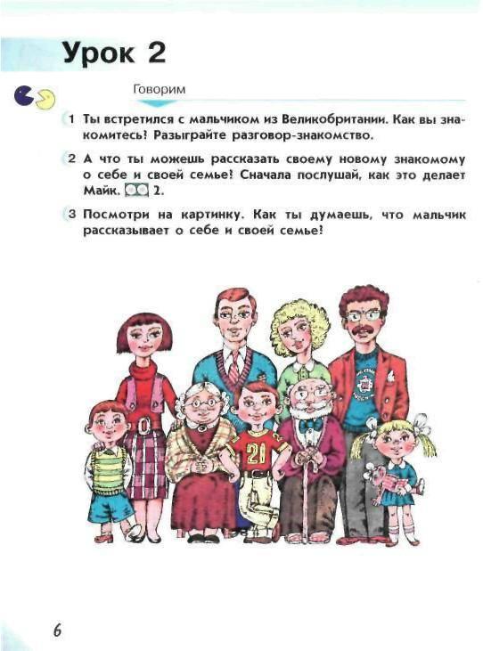 Английский язык 2 класс верещагина бондаренко часть