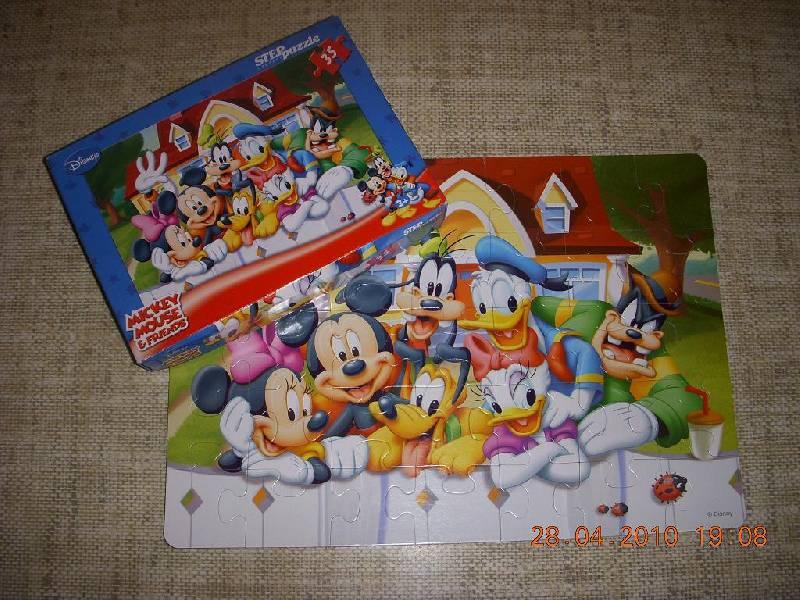 Иллюстрация 1 из 4 для Step Puzzle-35 91104 Микки Маус | Лабиринт - игрушки. Источник: Bulgakova  Tatjana