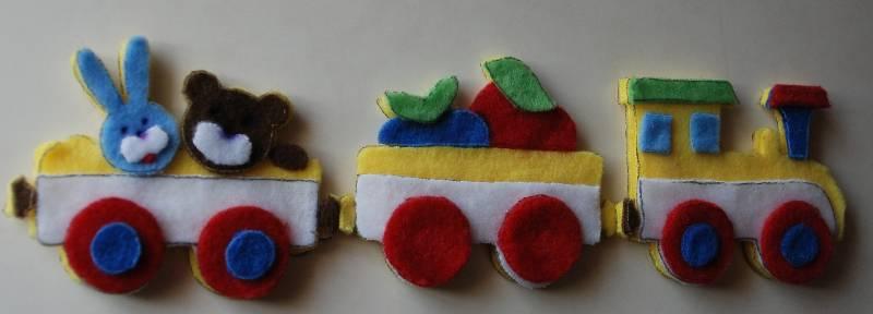 Иллюстрация 1 из 6 для Аппликация Паровозик (Рк-043) | Лабиринт - игрушки. Источник: МаRUSя