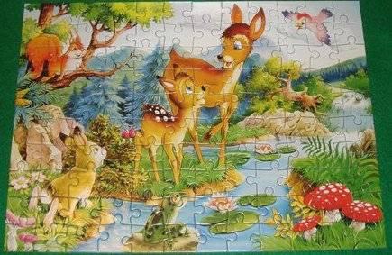 Иллюстрация 1 из 12 для Puzzle-120. MIDI. Бемби (В-12176) | Лабиринт - игрушки. Источник: Ляпина  Ольга Станиславовна