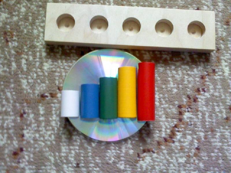 Иллюстрация 1 из 4 для Цилиндрики втыкалки малые | Лабиринт - игрушки. Источник: Tatka