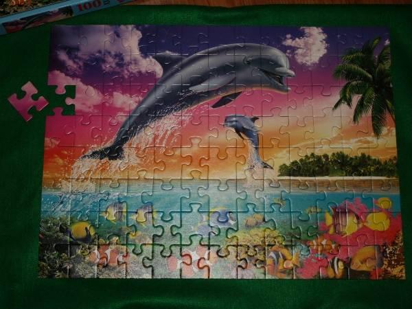 Иллюстрация 1 из 7 для Пазл-100. Дельфины (107247)   Лабиринт - игрушки. Источник: Snowqueen