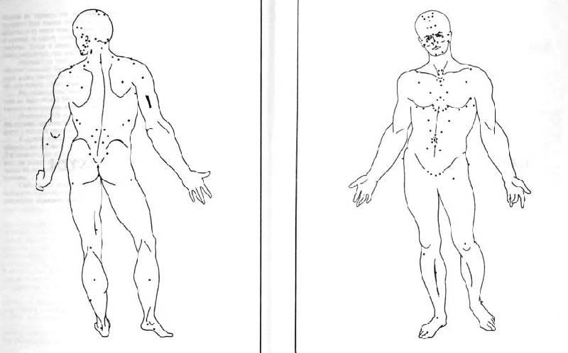 Иллюстрация 1 из 6 для Исцеление с помощью акупрессуры: акупунктура без иголок - Ф.М. Хаустон   Лабиринт - книги. Источник: alexss