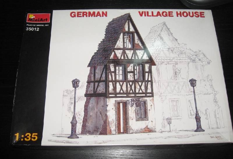 Иллюстрация 1 из 6 для 35012 Немецкий деревенский дом | Лабиринт - игрушки. Источник: Zhanna
