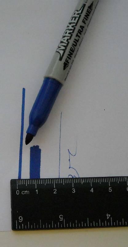 Иллюстрация 1 из 2 для Маркер двустор. для CD, плен Lantu (синий) | Лабиринт - канцтовы. Источник: frolicsome_i