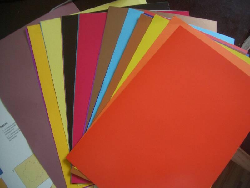 Иллюстрация 1 из 6 для Набор цветного картона и цветной бумаги (50 цветов,30 листов) (11-430-71) | Лабиринт - канцтовы. Источник: Mex-mex