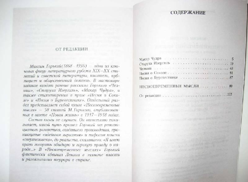 Иллюстрация 1 из 3 для Несвоевременные мысли: Заметки о революции и культуре - Максим Горький   Лабиринт - книги. Источник: Galoria