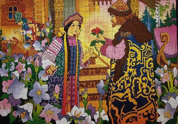Иллюстрация 1 из 7 для Step Puzzle-1000 79064 Аленький цветочек | Лабиринт - игрушки. Источник: RockBaby