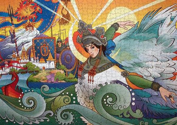 Иллюстрация 1 из 4 для Step Puzzle-1000 79067 Царевна Лебедь | Лабиринт - игрушки. Источник: RockBaby