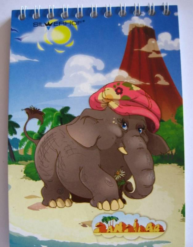 """Иллюстрация 1 из 11 для Блокнот """"Zanzibar"""", 40 листов, А6 (ассортимент) (731071-26)   Лабиринт - канцтовы. Источник: ixora"""