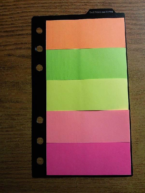 Иллюстрация 1 из 3 для Набор стикеров 5 цветов по 20 листов, 30х76 мм (07357) | Лабиринт - канцтовы. Источник: Chris