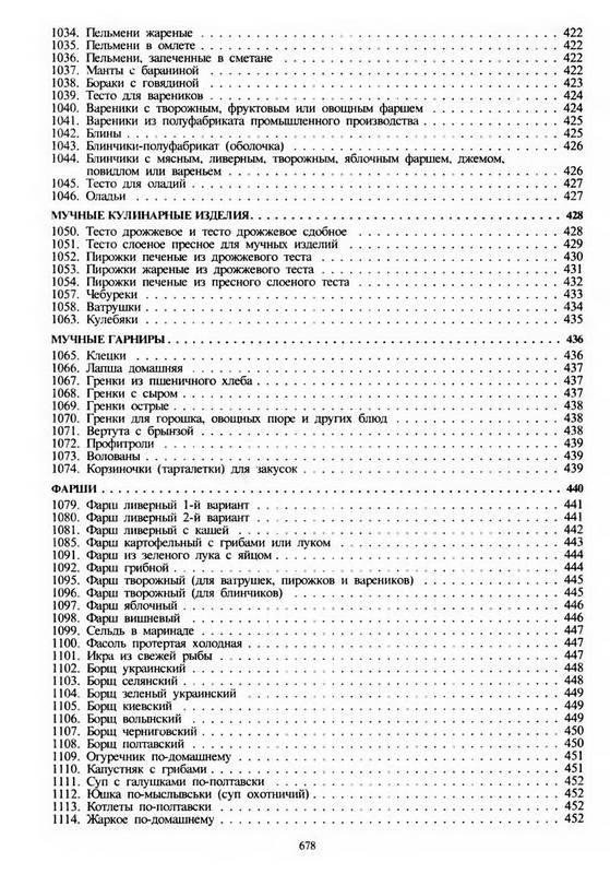 Сборник рецептур и кулинарных изделий здобнов 184