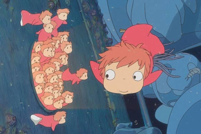 Иллюстрация 1 из 5 для Рыбка Поньо на утесе (DVD) - Хаяо Миядзаки | Лабиринт - видео. Источник: urri23