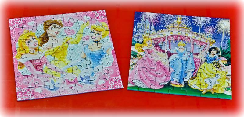 Иллюстрация 1 из 15 для Пазл-3*49. Сказочные принцессы Диснея (092772)   Лабиринт - игрушки. Источник: Ромашка