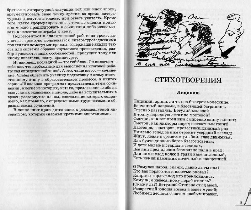 Иллюстрация 1 из 7 для А. С. Пушкин. Лирика. Избранное. Анализ текста. Основное содержание. Сочинения - Н. Сечина   Лабиринт - книги. Источник: Росинка