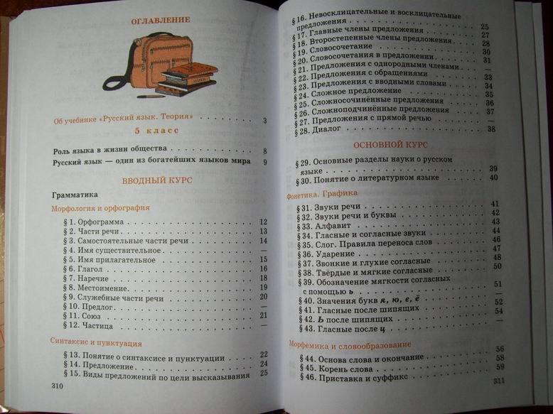Класс русский язык бабайцева теория гдз 5