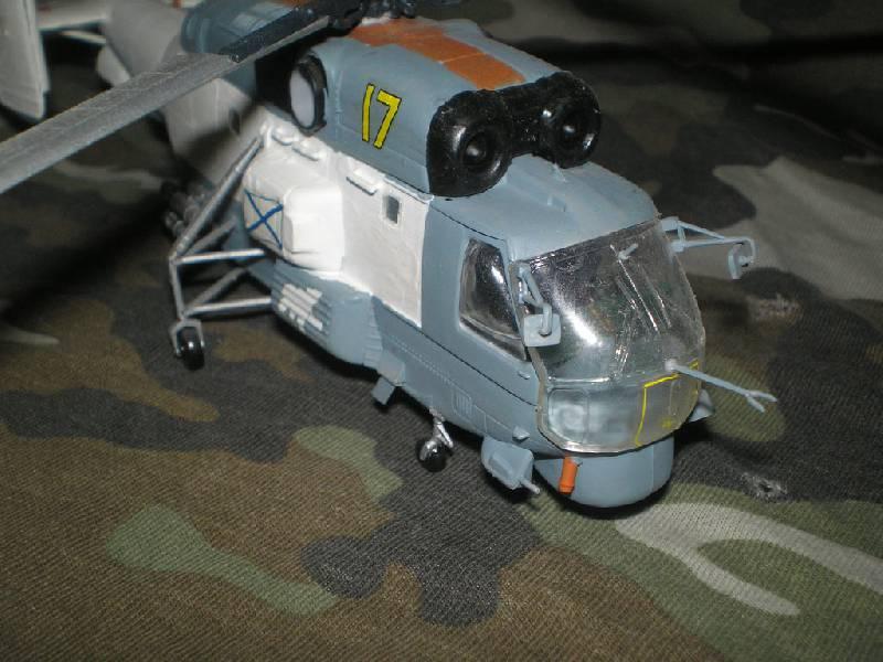 Иллюстрация 1 из 3 для Советский поисково-спасательный вертолет Ка-27ПС | Лабиринт - игрушки. Источник: дементьев  сергей владимирович