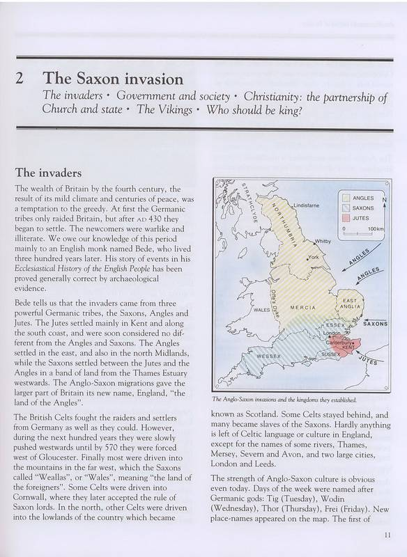 germanic peoples and english settlers