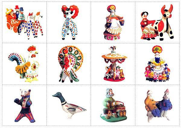 народные игрушки картинки для детей