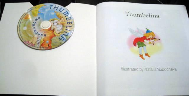 Иллюстрация 1 из 14 для Дюймовочка (англ. + CD) - Victoria Brudenell | Лабиринт - книги. Источник: Troulala