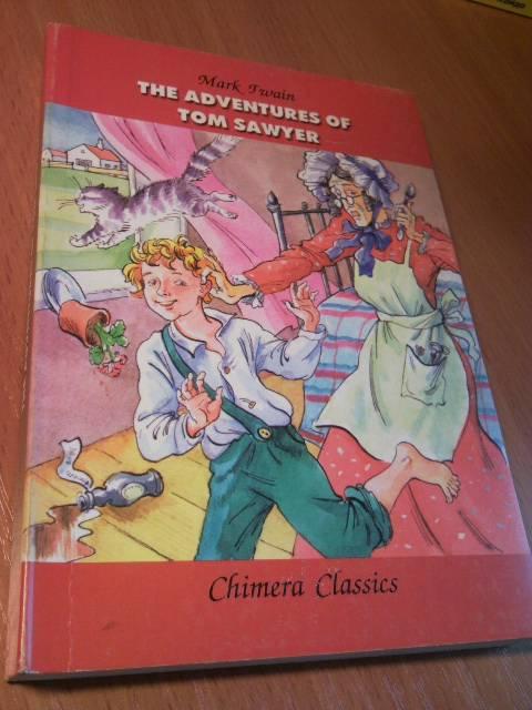 Иллюстрация 1 из 4 для The adventures of Tom Sawyer - Mark Twain | Лабиринт - книги. Источник: swallow_ann