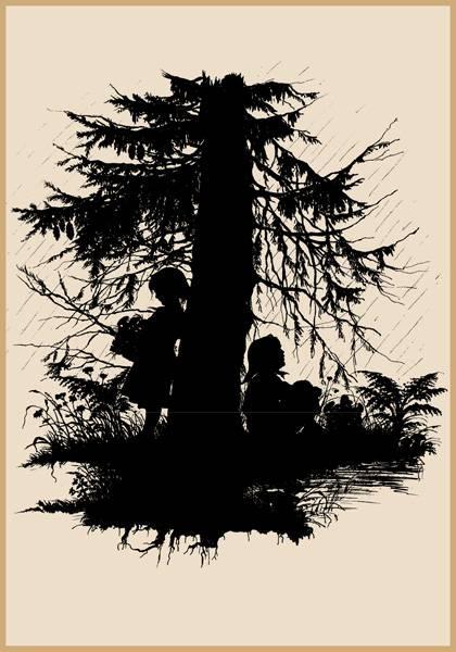 Иллюстрация 10 из 17 для Силуэты. Набор открыток - Елизавета Бем   Лабиринт - книги. Источник: Золотая рыбка