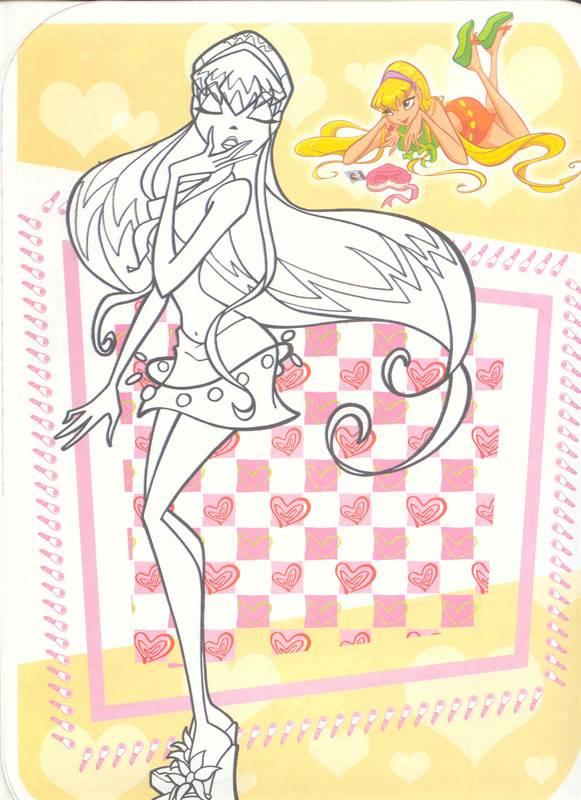 Иллюстрация 1 из 3 для Рисуем с Winx. Книжка-раскраска № 4   Лабиринт - книги. Источник: Бетельгейзе