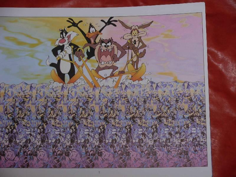 Иллюстрация 1 из 7 для Волшебный глаз (Луни Тунз), синий | Лабиринт - книги. Источник: ---Марго----
