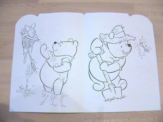 Иллюстрация 1 из 6 для Умная раскраска № 0807. Винни и его друзья | Лабиринт - книги. Источник: Ната Ф.