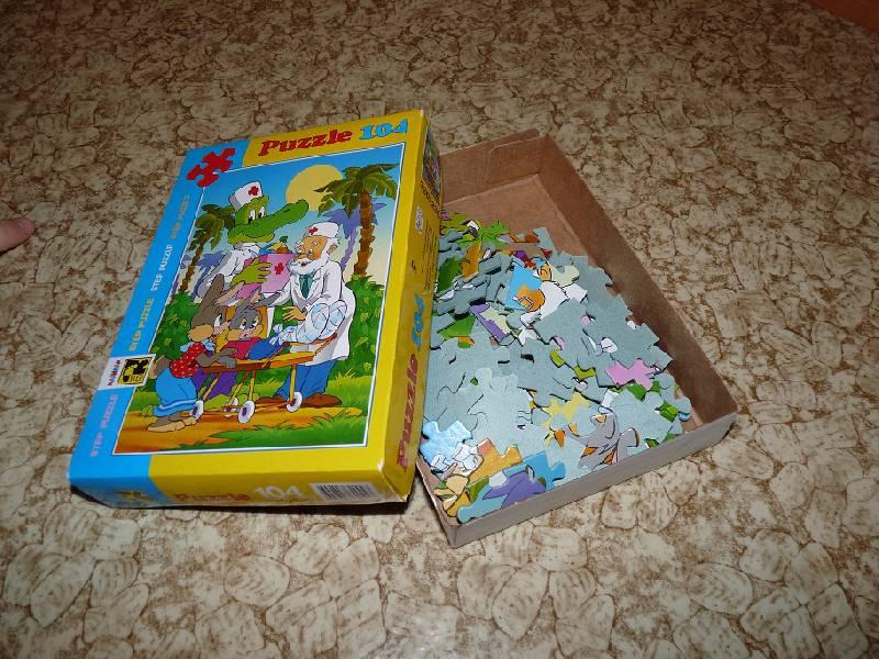 Иллюстрация 1 из 11 для Step Puzzle-104 82004 Айболит и зайчата | Лабиринт - игрушки. Источник: Алимова  Любовь Алексеевна