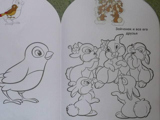 Иллюстрация 1 из 3 для Наклей и раскрась для самых маленьких 0802 Зайчата | Лабиринт - книги. Источник: Новичкова Елена Юрьевна