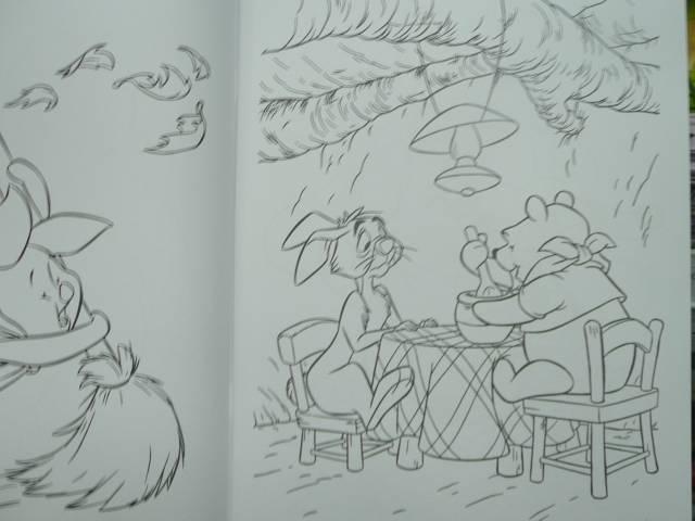 Иллюстрация 1 из 2 для Раскраска-люкс №19-06 (Винни и его друзья) | Лабиринт - книги. Источник: Новичкова Елена Юрьевна