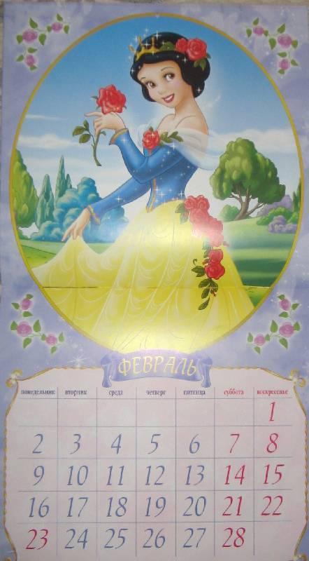 Иллюстрация 1 из 15 для Принцесса. Календарь 2009 | Лабиринт - сувениры. Источник: Читательница