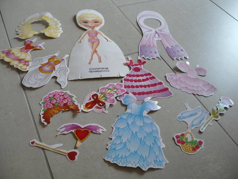 Иллюстрация 1 из 4 для Куклы с нарядами: Сказочная Принцесса | Лабиринт - игрушки. Источник: Домбиблиотека