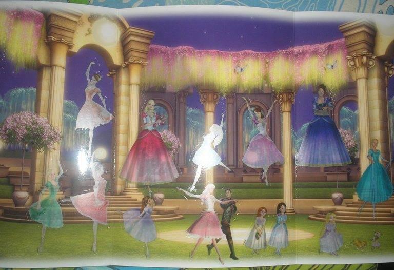 Иллюстрация 1 из 2 для Барби в фильме 12 Танцующих Принцесс - Джуди Катчке | Лабиринт - книги. Источник: Оксанка