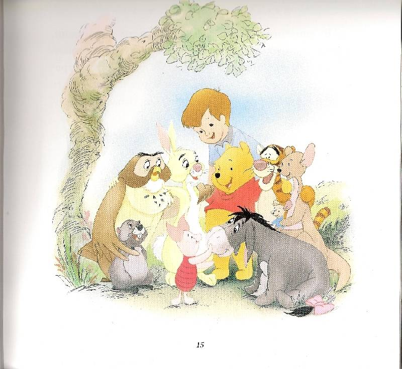 Иллюстрация 1 из 17 для WD.Лучшие сказки о Винни и его друзьях | Лабиринт - книги. Источник: khab