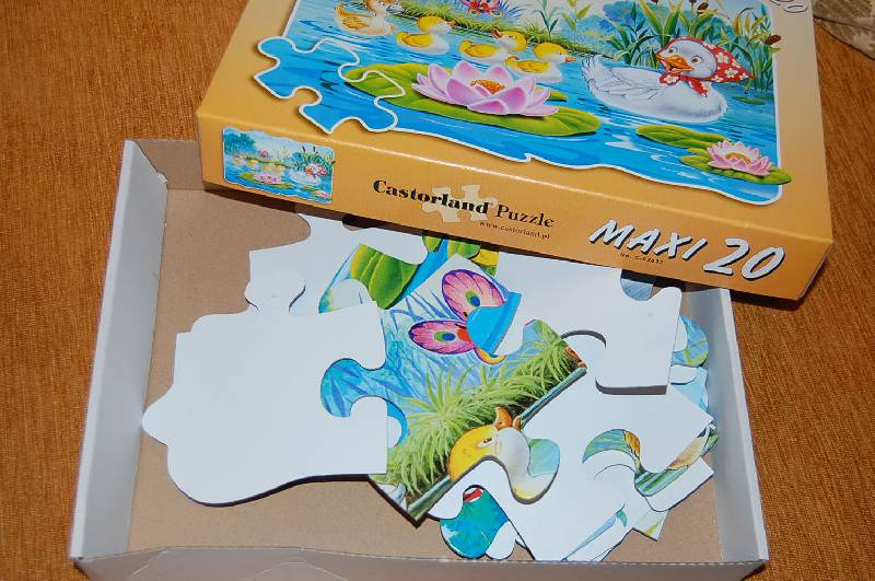 Иллюстрация 1 из 2 для Puzzle-20. MAXI. Гадкий утенок (С-02092) | Лабиринт - игрушки. Источник: ИринаИ