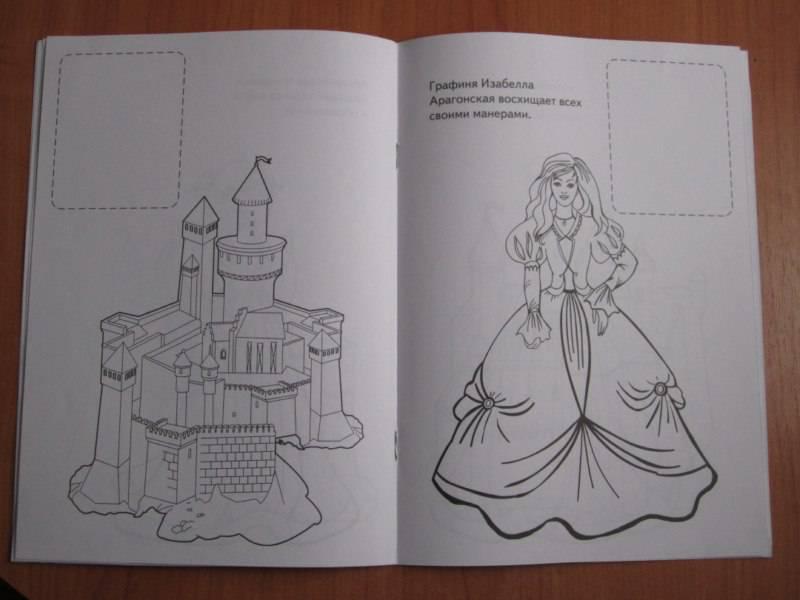 Иллюстрация 1 из 2 для Принцессы и замки | Лабиринт - книги. Источник: Побережская  Ольга