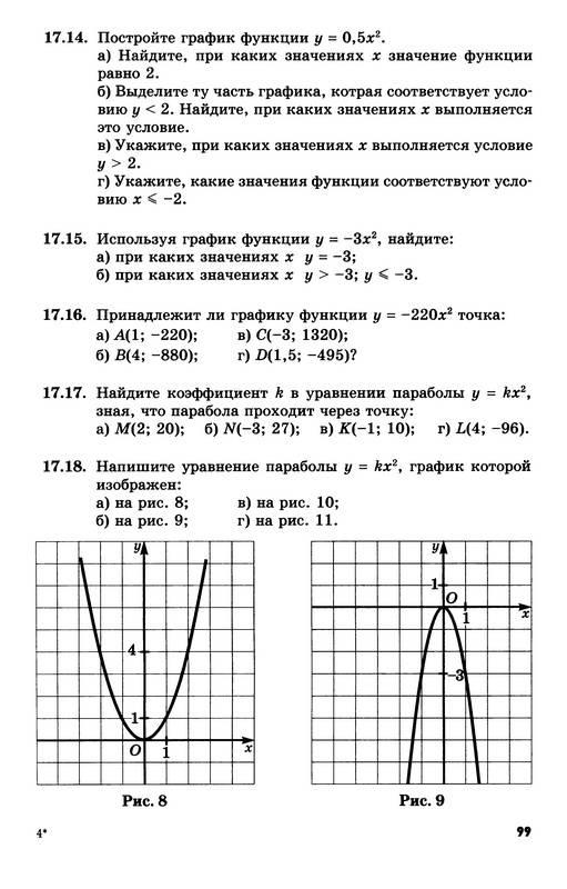 алгебре самостоятельным мордкович класс работам по гдз по 10