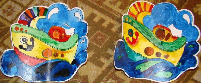Иллюстрация 1 из 3 для Раскраска Кораблик (Рдм007) | Лабиринт - игрушки. Источник: Новикова Т.Ю.
