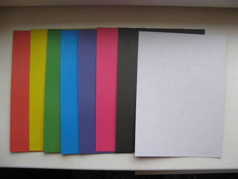 Иллюстрация 1 из 4 для Цветной картон А4, 8 листов, 8 цветов (ЦК2863) | Лабиринт - канцтовы. Источник: Карпенко  Ольга Владимировна