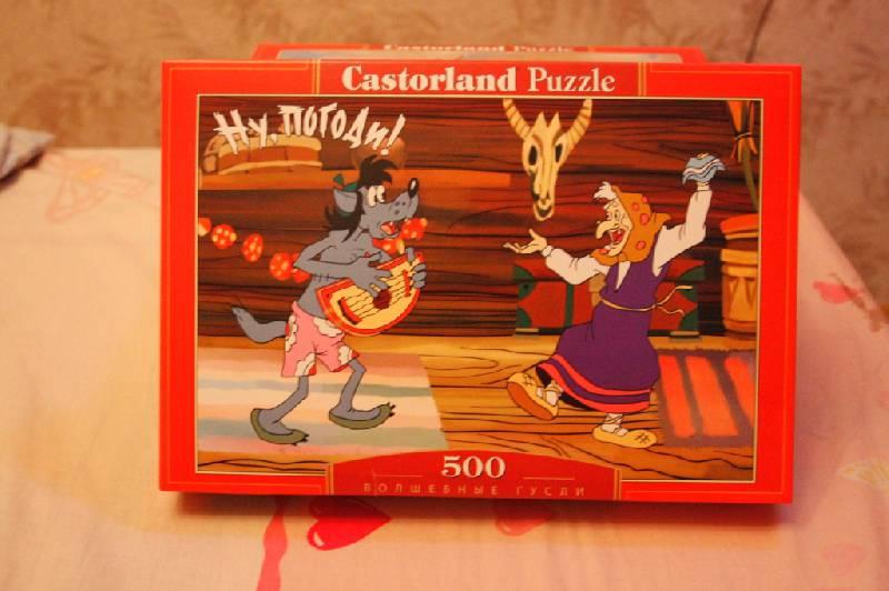 Иллюстрация 1 из 2 для Puzzle-500. Ну, погоди! Волшебные гусли (B-50050) | Лабиринт - игрушки. Источник: Elena_Vamp